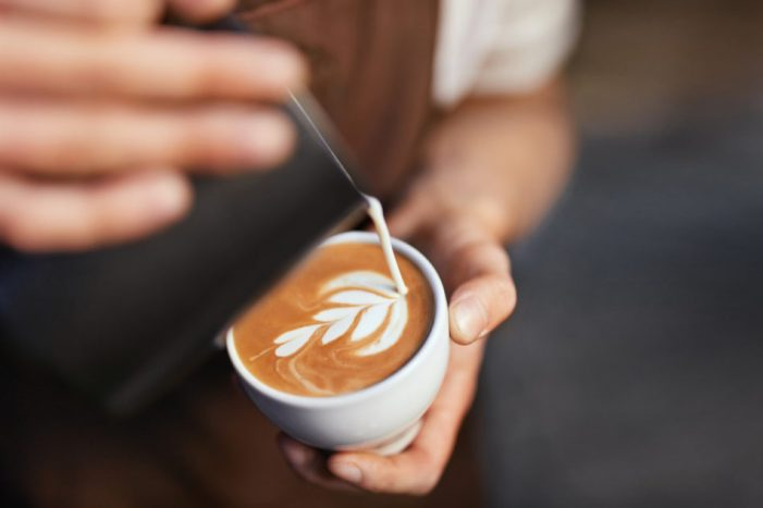 Coffee Art In Cup