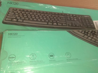 Logitech Mk120 Wired Combo Product Box Image