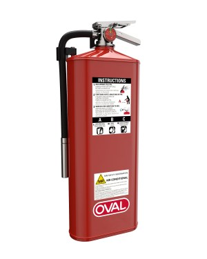 Oval Brand Fire Products Model 10HABC-MR Left