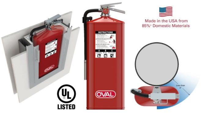 Oval Brand Fire Products