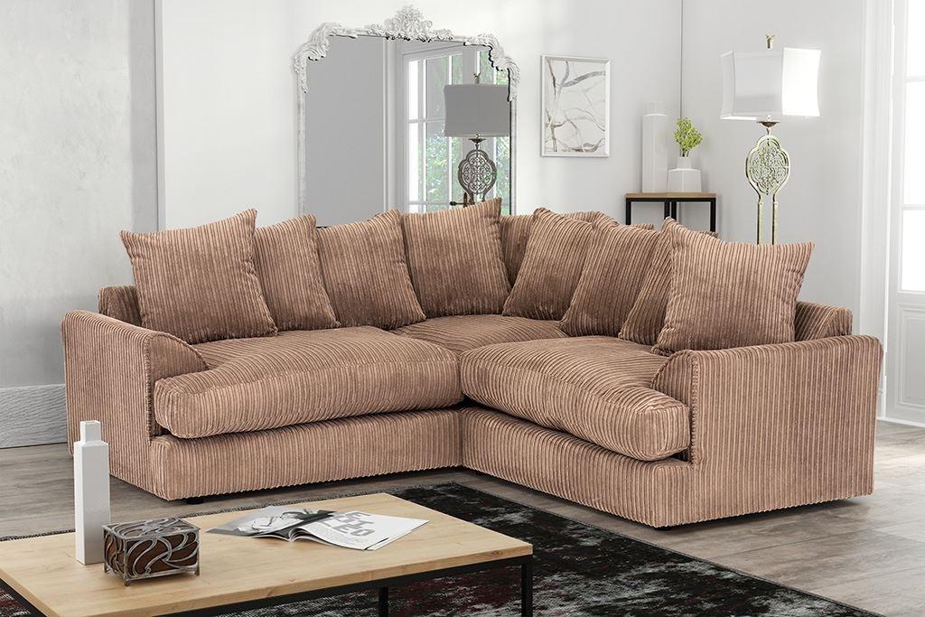 sofa in brown Cord Chenille