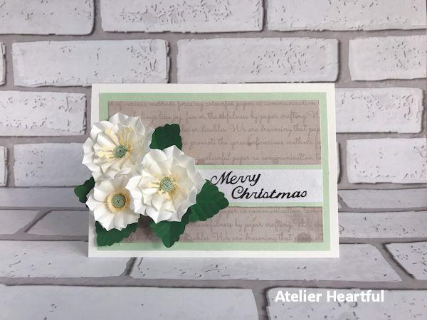 JPA クリスマスローズのカード
