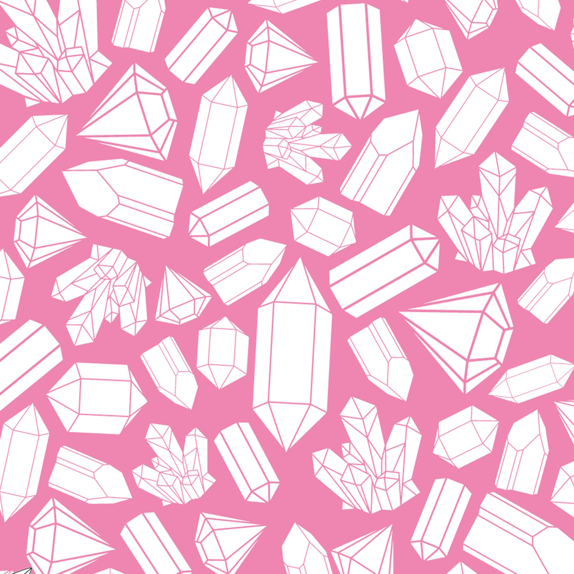 graphic regarding Printable Origami Paper titled Crystal Habit Printable Origami Paper