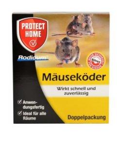 Rodicum Mäuseköder mit Köderbox (2er Set)
