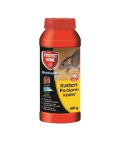 Rodicum Ratten Portionsköder 500 g