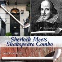 Sherlock meets Shakespeare clay combo