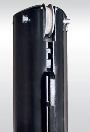 Aluminum Internal Wind Net Post