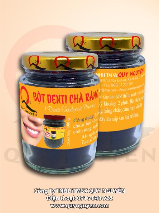 Bột Denti Chà Răng Quy Nguyên