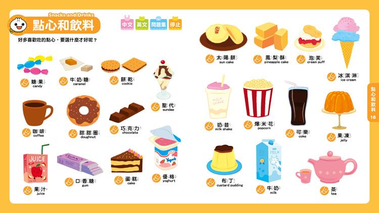 babygo |臺灣樂天市場:*babygo*風車圖書0-6歲Food超人點讀認知圖鑑(收錄中英單字605組)