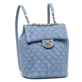 Image result for lavender and blue chanel backpack