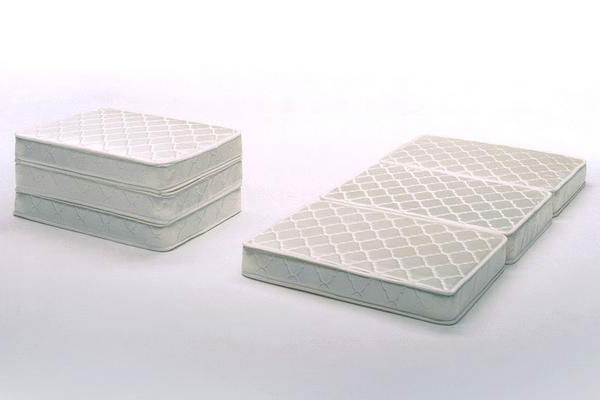 Tri Fold Mattress Single Ivory S Size