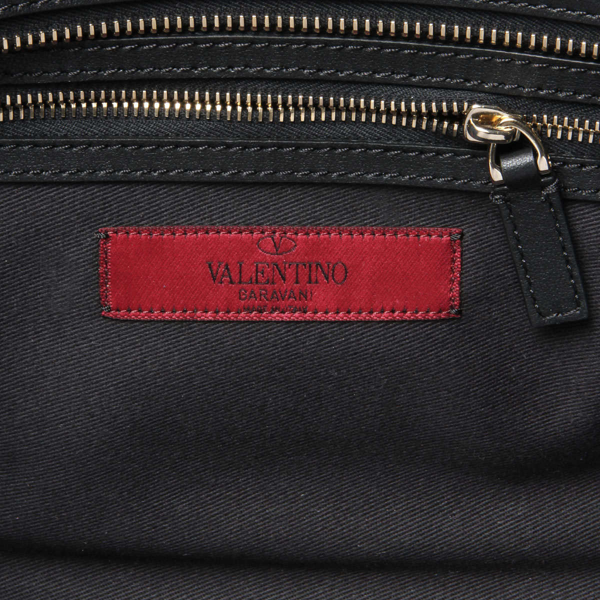 importshopdouble: 華倫天奴VALENTINO包女士QW2B0540BOL 0NO肩膀在的手提包小ROCKSTUD液體氧塔德NERO黑色   日本樂天市場