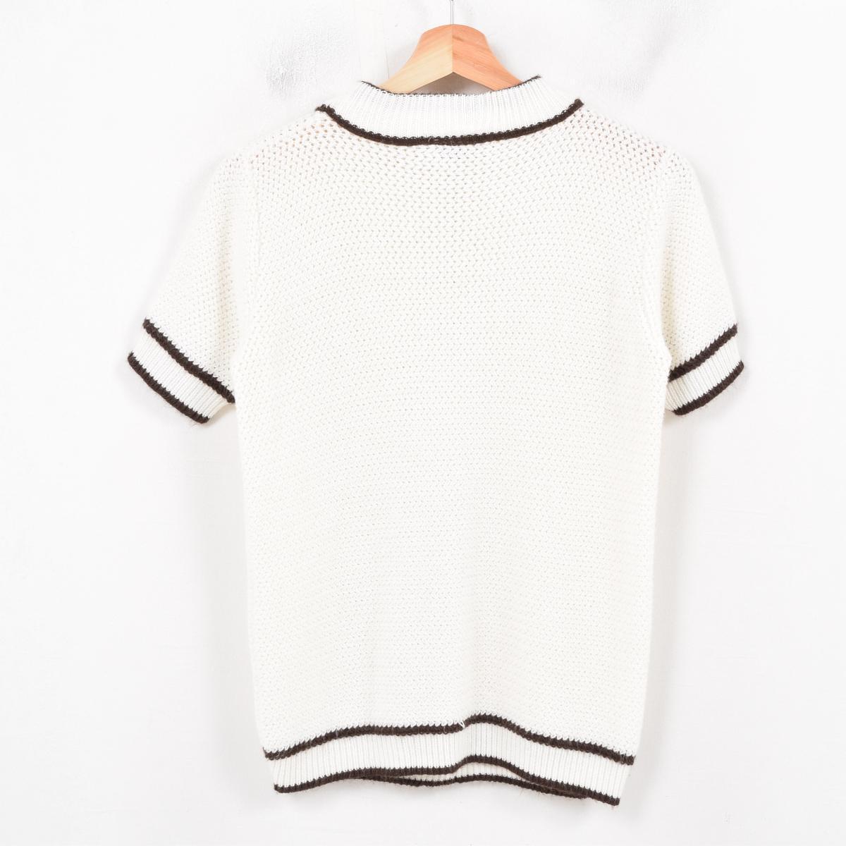 Vintage Clothing Jam Turbo Short Sleeved Acrylic Knit