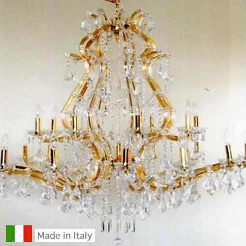 Imported Chandeliers Light Fixtures Made In Italy Chandelier 24 Kiraku Imports Goods