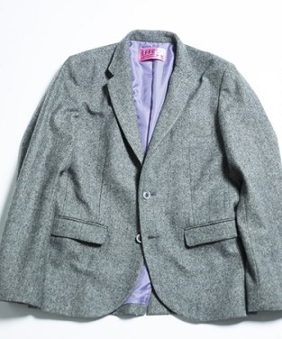 「EFFECTEN エフェクテン / herringbone tailored jacket / efrr-23」の画像検索結果