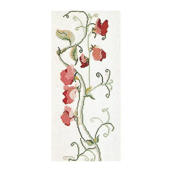 sweet pea embroidery # 11