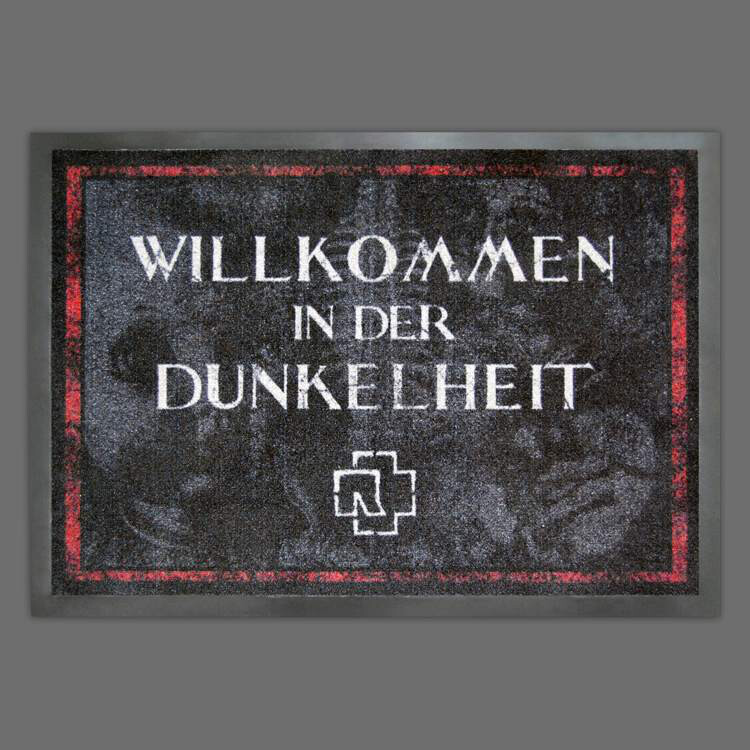 Rammstein Doormat Willkommen In Der Dunkelheit 1