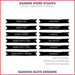 Weekly Stamps - shop.randomolive.com
