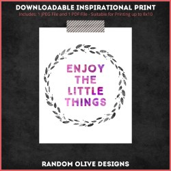 Inspirational Prints - shop.randomolive.com