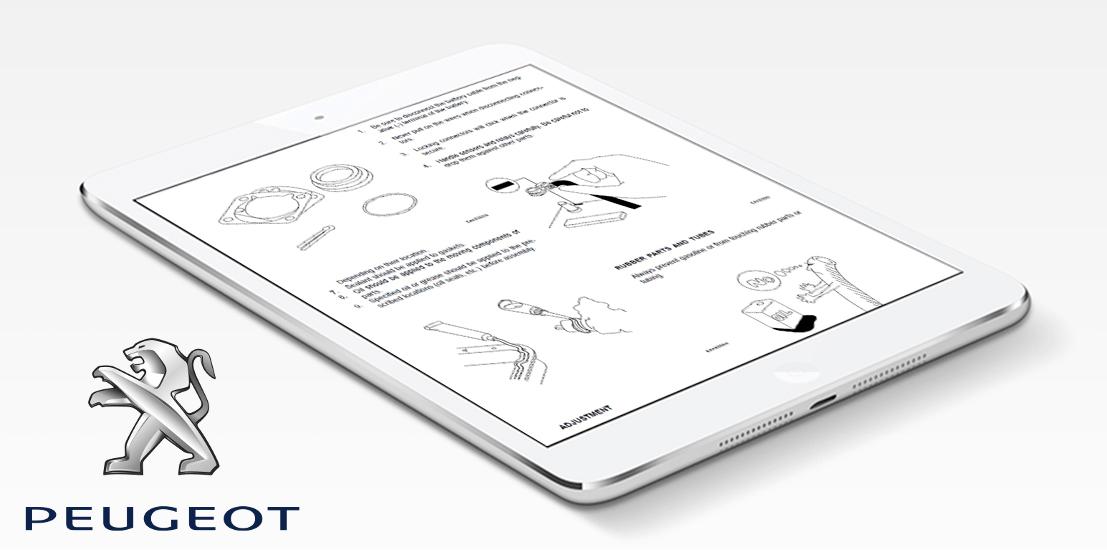 peugeot repair service manual choose your vehicle instant download rh shop repairservicemanuals com Peugeot 607 Peugeot 607