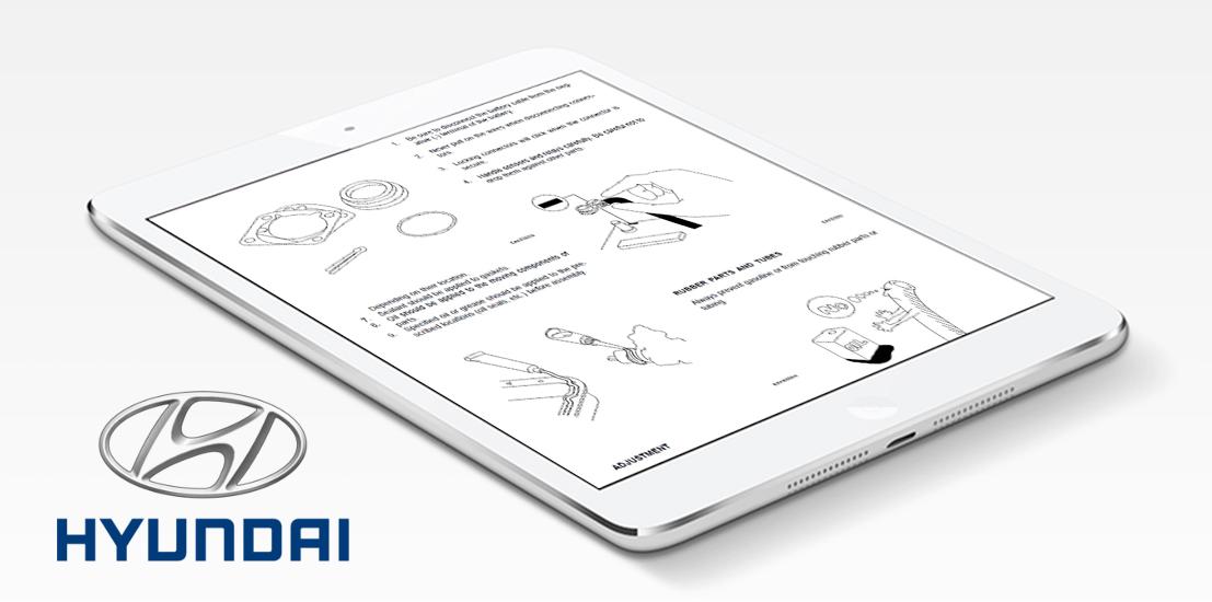hyundai repair service manual instant download rh shop repairservicemanuals com Parts Manual 2008 hyundai entourage service manual