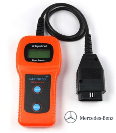 Mercedes-Benz fault scanner