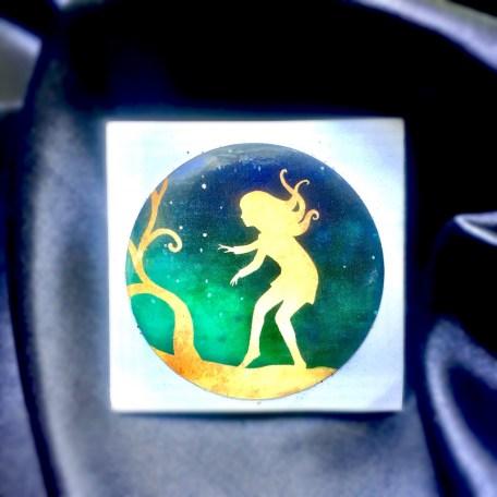 Sticker - Serafina and the Black Cloak