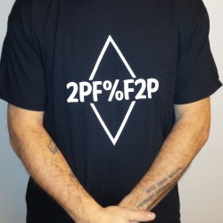 2PF%F2P T-Shirt (diamond left to right)