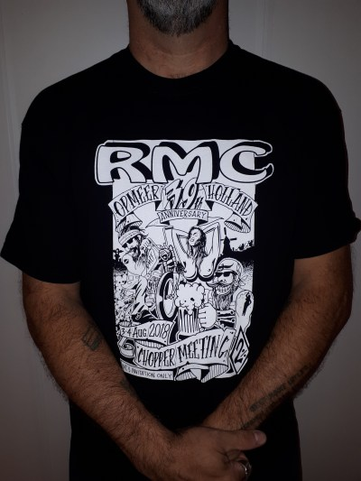 RMC 39th anniversary T-shirt (Black)