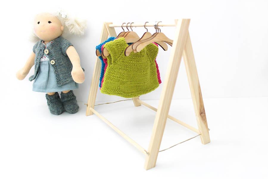 Kleiderständer Puppenzubehör