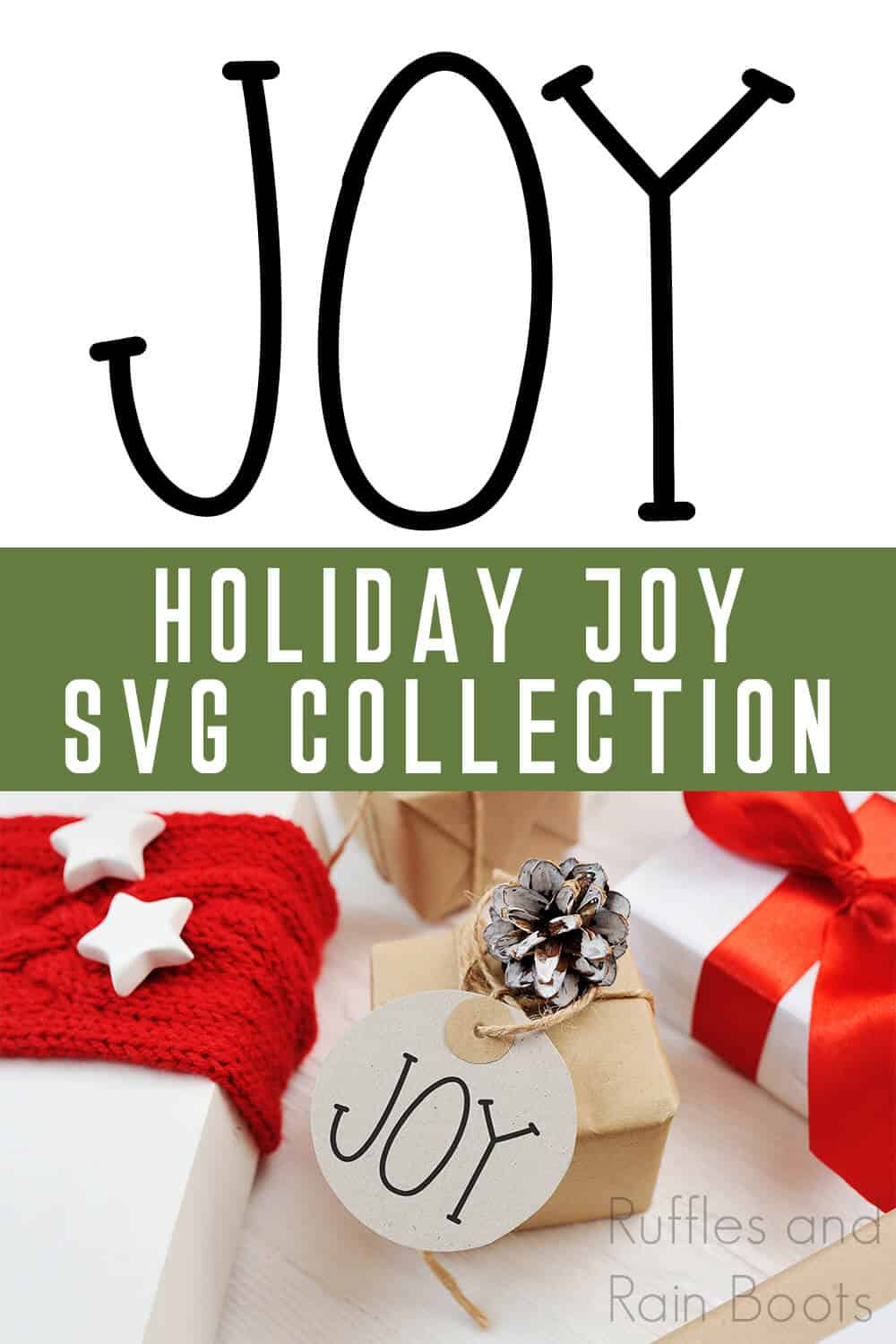 Download Three Different Joy SVG Cut Files for Cricut and Silhouette