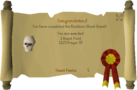 the restless ghost quest