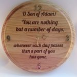 O, Son of Adam Clock