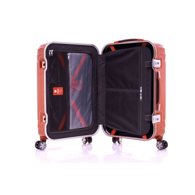 Samsonite Tru Frame Collection 25 Spinner In The Color Flame