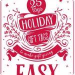 25 Christmas tags