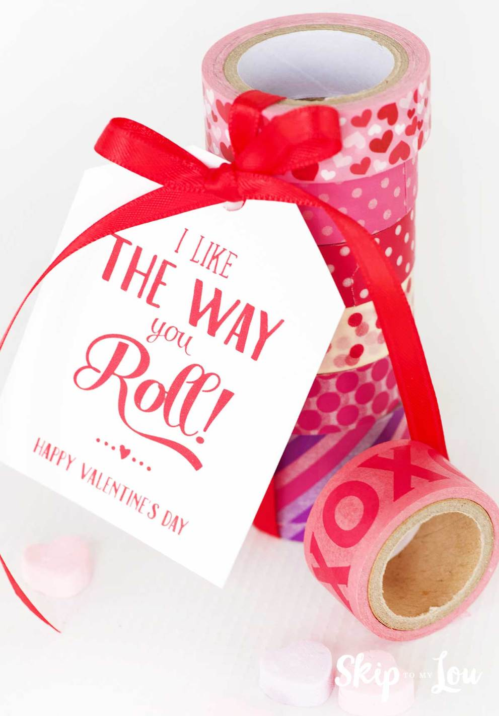 like the way you roll teacher gift tag