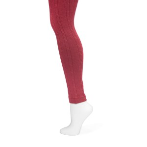 Women's Cable Knit Leggings