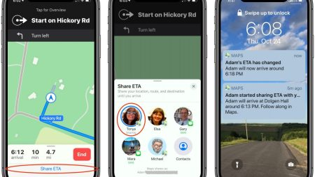 Use the Driving ETA Feature in iOS 13's Maps App to Share Your Arrival Time