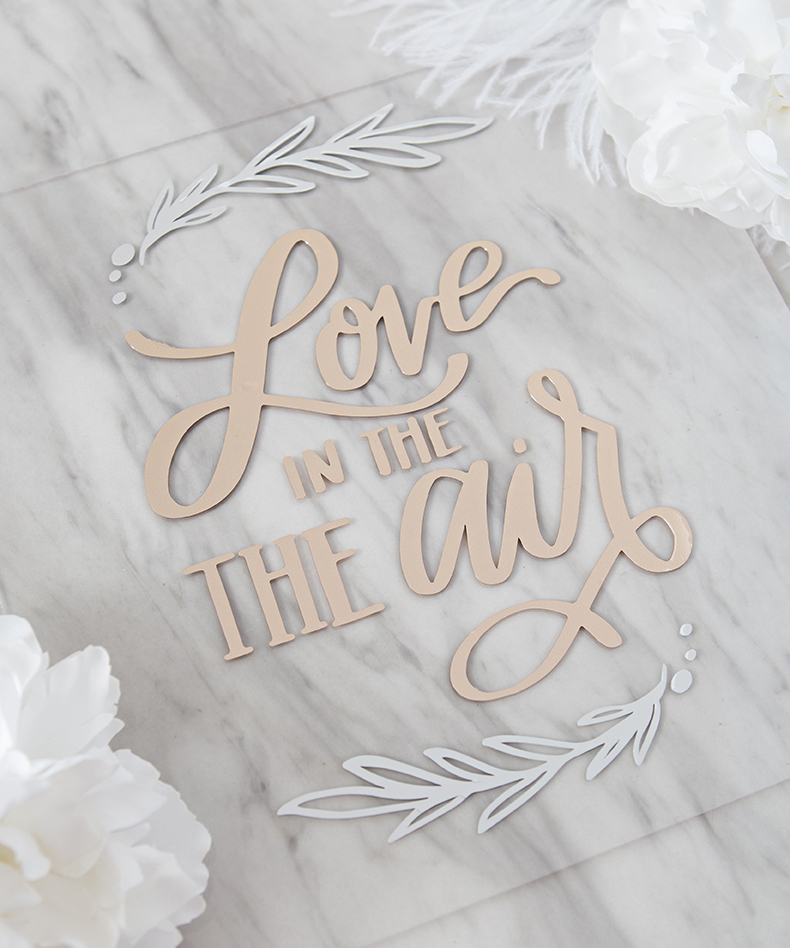 Download Love Is In The Air .SVG Cut File - Something Turquoise ...