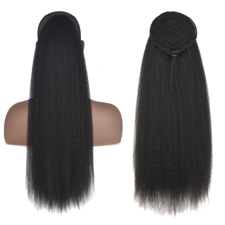 display of a cheap ponytail wig in Lagos