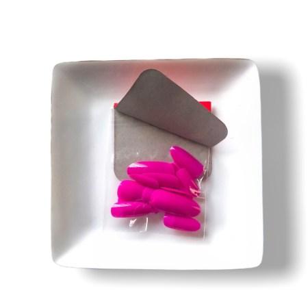 lilac acrylic nails