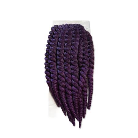 bantu twist 12 inches color purple