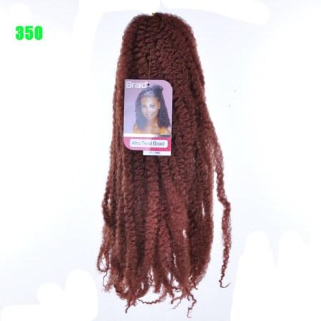 marley hair in color 350