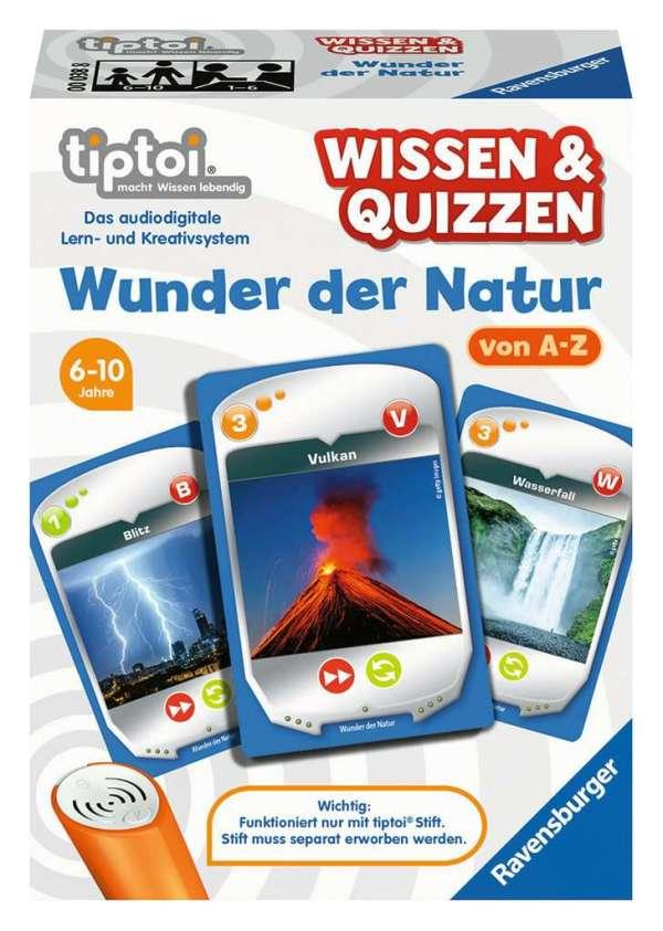 W&Q: Wunder der Natur D-tiptoi Spiele/Puzzles   Ravensburger Spielverlag