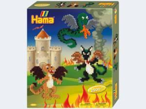 HAMA Geschenkpackung Drachen | Idee + Spiel