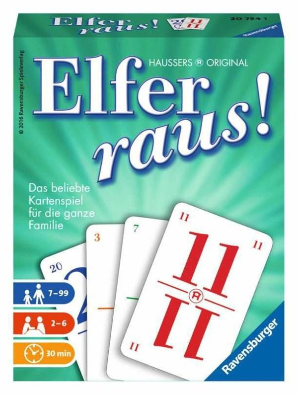 Elfer raus D-Ravensburger® Kartenspiele | Ravensburger Spielverlag