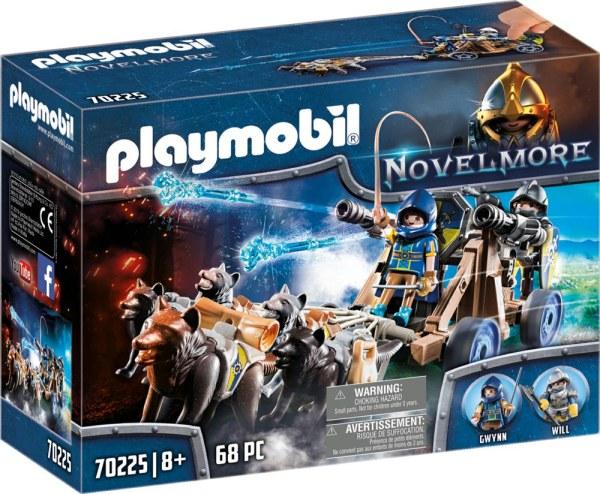 Novelmore Wolfsgespann und Wa   Playmobil