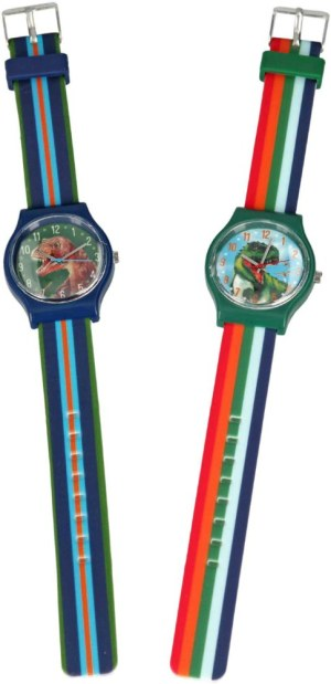 Dino World Silikon-Armbanduhr | Depesche