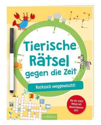 TierischeRätsel geg,d,Zeit | Ars Edition
