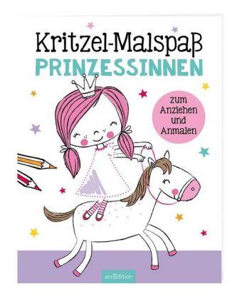 Kritzel-Malspaß Prinzess, | Ars Edition